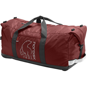 Nordisk Flakstad Travel Bag 85l, burnt red